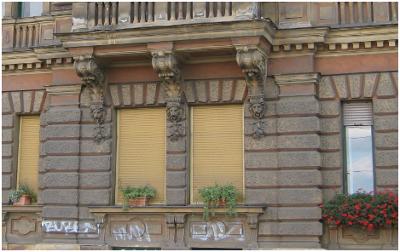 Възтановяване на стара фасада