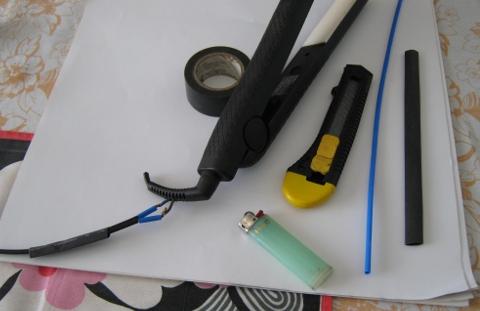 преса за коса - инструменти