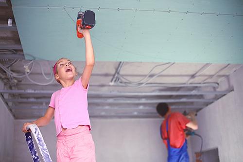 Опънат таван за детска стая